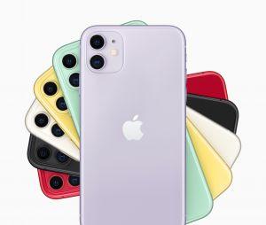 L'iPhone 11 sera dispo en 6 couleurs : mauve, jaune, vert, noir, blanc et rouge
