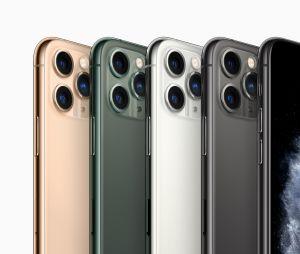 L'iPhone 11 Pro et 11 Pro Max dispo en 4 couleurs : gris sidéral, argent, vert nuit et or