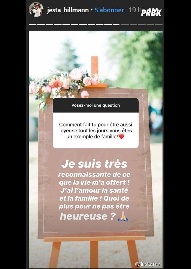Jesta (Koh Lanta) répond aux questions de ses fans sur Instagram Stories