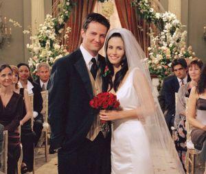 Monica et Chandler n'auraient pas dû être en couple dans Friends