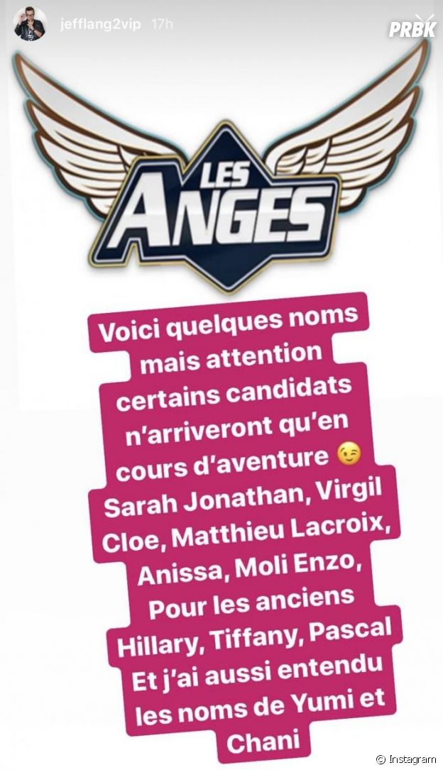 Les Anges 12: les premiers noms dévoilés ?