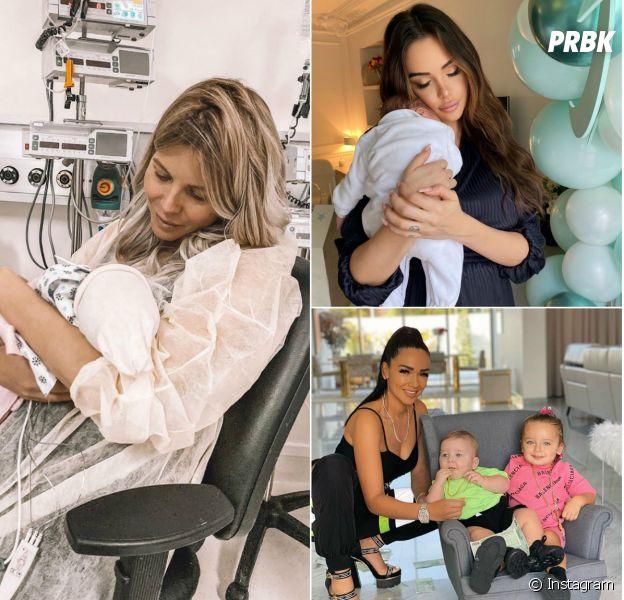 Jessica Thivenin, Nabilla Benattia, Jazz... toutes ces candidates devenues mamans
