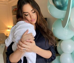 Nabilla Benattia maman d'un petit garçon prénommé Milann