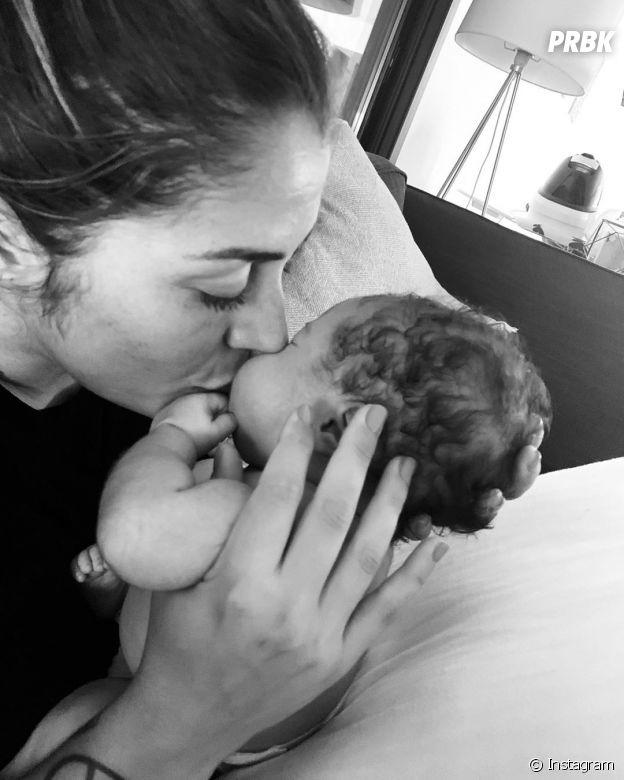 Anaïs Camizuli maman d'une petite fille prénommée Kessi