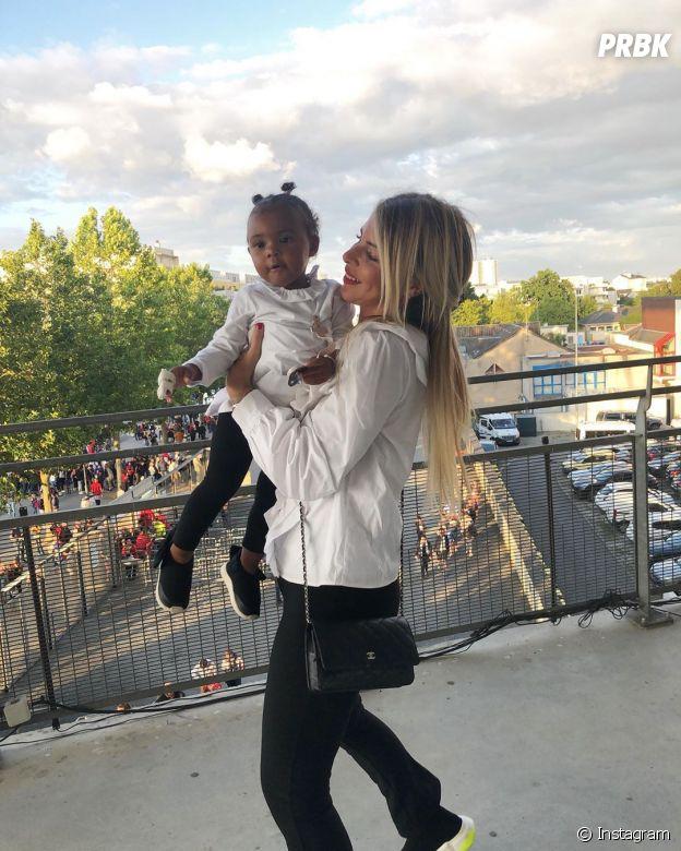 Emilie Fiorelli complice avec sa fille Louna