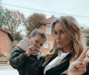 Aurélie Van Daelen complice avec son fils Pharell