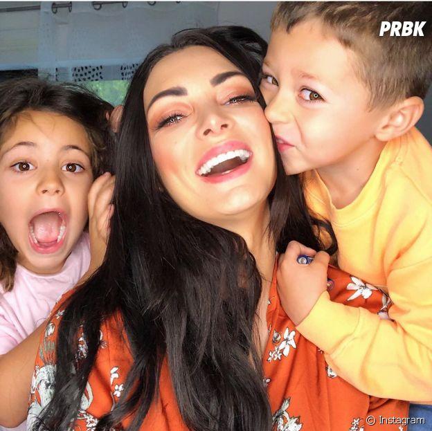 Emilie Nef Naf et ses enfants Menzo et Maëlla
