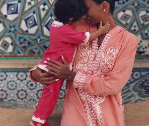 Nehuda avec sa petite fille Laia