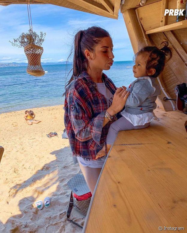 Liam Di Benedetto avec sa fille Joy
