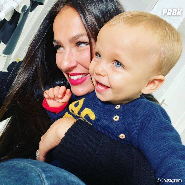 Julie Ricci pose avec son fils Gianni sur Instagram