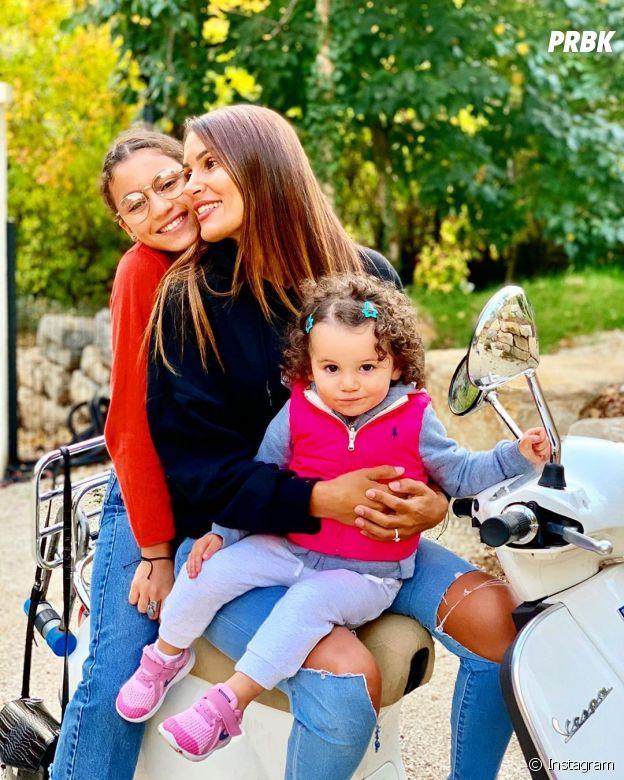 Wafa (La bataille des couples 2) avec ses filles Manel et Jenna