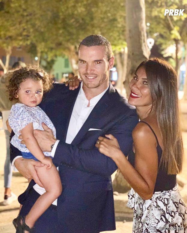 Wafa (La bataille des couples 2) avec son chéri Oliver et leur fille Jenna