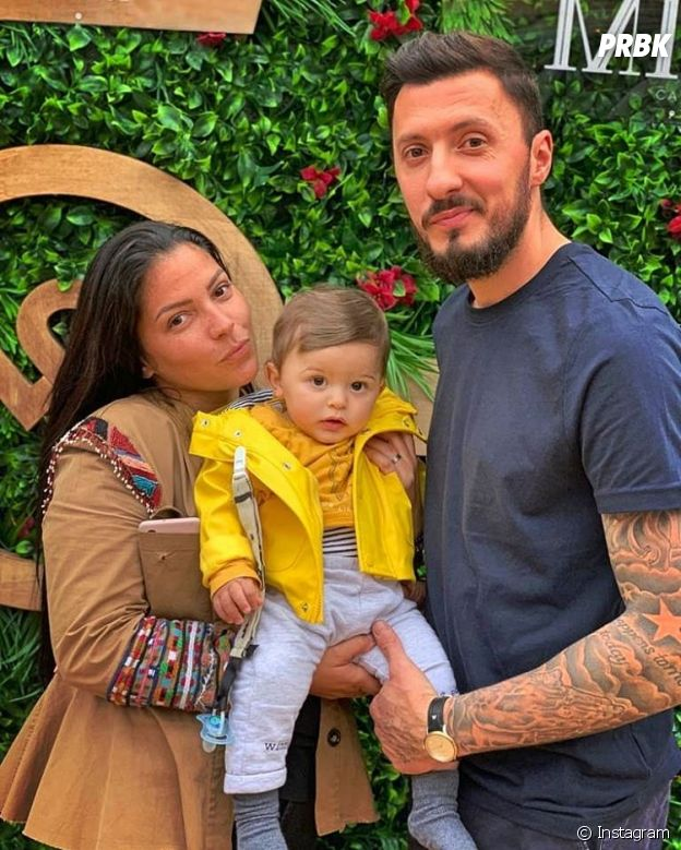 Sophia Lazare et Kevin avec leur fils Dixon