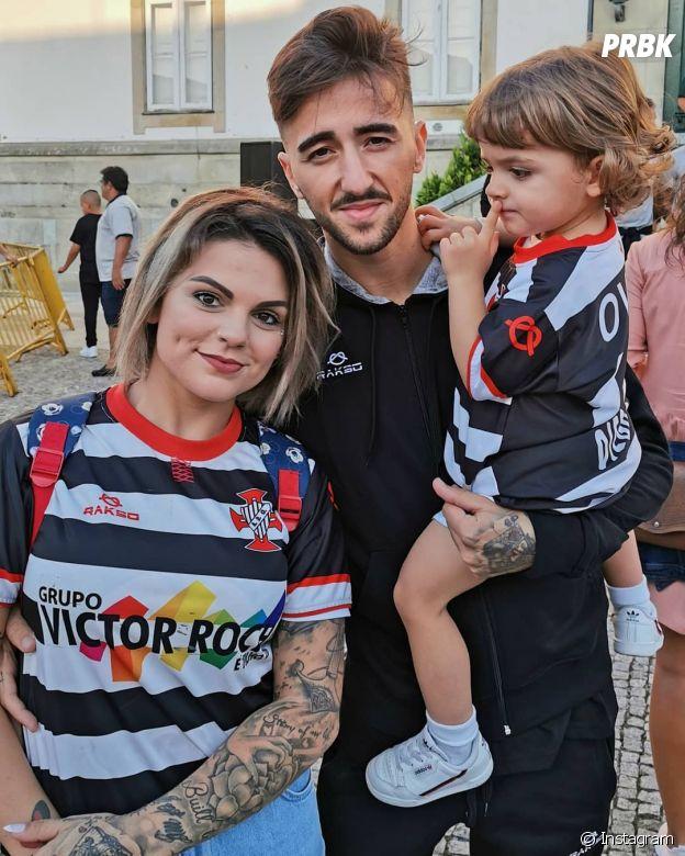 Fanny Rodrigues (Secret Story 10) avec son chéri Joao et leur fils Diego
