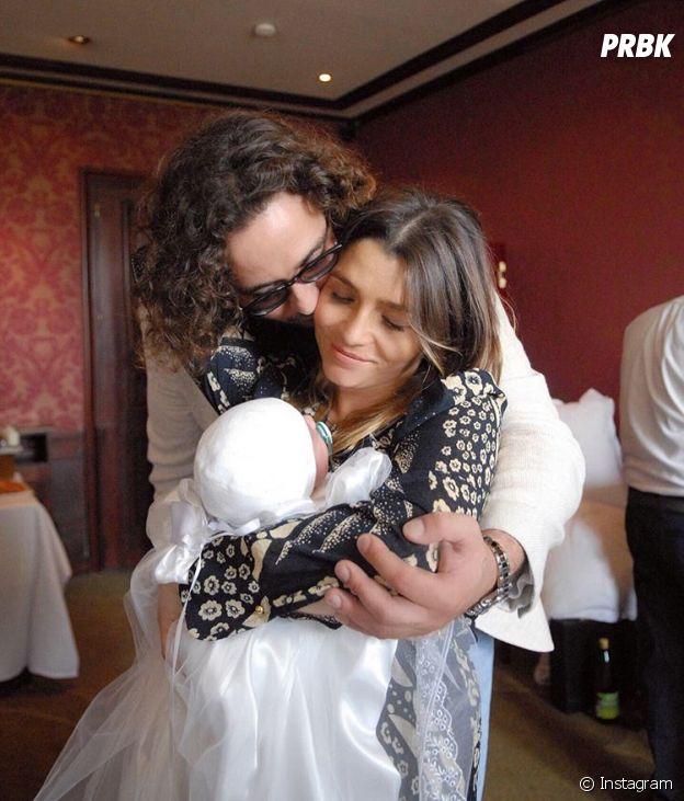 Clara Bermudes avec son chéri Louis et leur fils Andréa