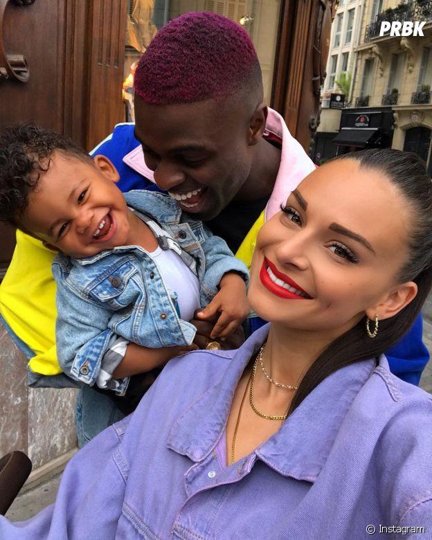 Olivia (La bataille des couples 2) et Alexandre avec leur fils Cameron