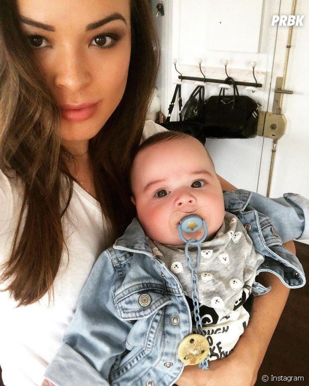 Tara Damiano (Secret Story 7) avec son fils Mayron