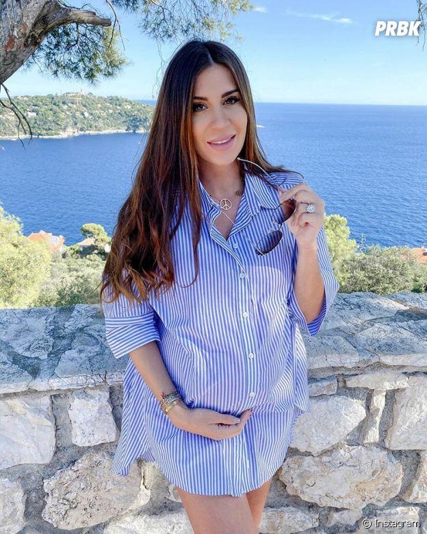 Martika Caringella enceinte de son premier enfant