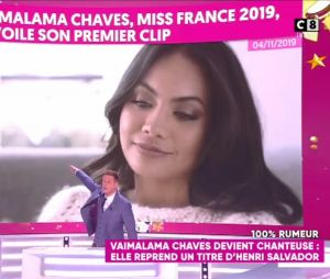 Vaimalama Chaves annonce un album de musique, Matthieu Delormeau défonce ce choix
