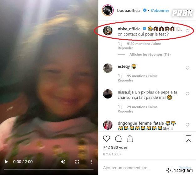 La fille de Booba reprend Médicament, Niska valide