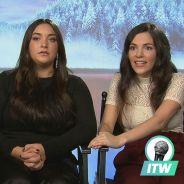 La Reine des Neiges 2 : l'interro surprise de Charlotte Hervieux (Elsa) et Emmylou Homs (Anna)