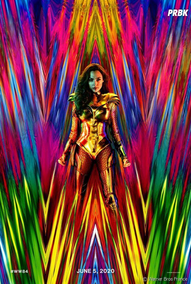 L'affiche de Wonder Woman 1984 avec Gal Gadot