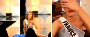 Miss Univers 2019 : Maëva Coucke chute violemment en plein défilé, elle réagit avec humour
