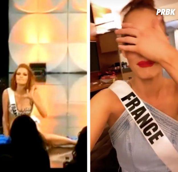 Miss Univers 2019 : Maëva Coucke chute violement en plein défilé, elle réagit avec humour