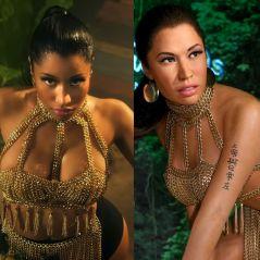 """Nicki Minaj transformée en """"Nicole Ménage"""" : sa statue de cire complètement ratée prend très cher"""