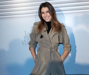 Laury Thilleman lors du dernier défilé Haute-Couture de Jean-Paul Gaultier à la Paris Fashion Week