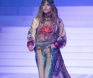 Paris Jackson lors du dernier défilé Haute-Couture de Jean-Paul Gaultier à la Paris Fashion Week