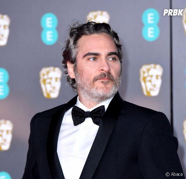 Joaquin Phoenix aux BAFTA 2020 le dimanche 2 février à Londres