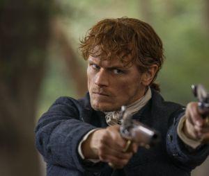 Outlander saison 5 : Sam Heughan sur une photo