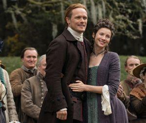 Outlander saison 5 : Jamie et Claire sur une photo