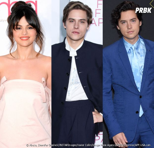 """Selena Gomez : son baiser avec Dylan Sprouse était """"le pire"""", lui et Cole Sprouse réagissent"""