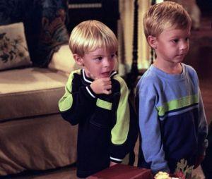 7 à la maison : Lorenzo (à gauche) et son frère Nikolas dans la série