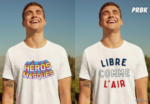 Les tee-shirts Jules imaginés pour soutenir l'association Protège ton soignant