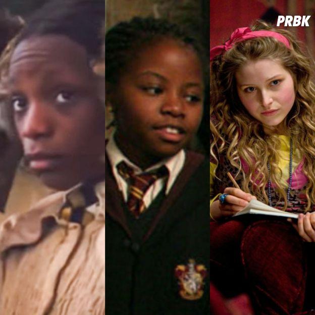 Harry Potter : Kathleen Cauley à gauche, Jennifer Smith au milieu et Jessie Cave à droite