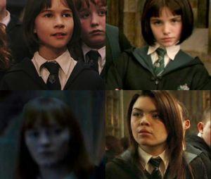 Harry Potter : Katharine Nicholson en haut à gauche, Genevieve Gaunt en haut à droite, Lauren Shotton en bas à gauche et Scarlett Byrne en bas à droite