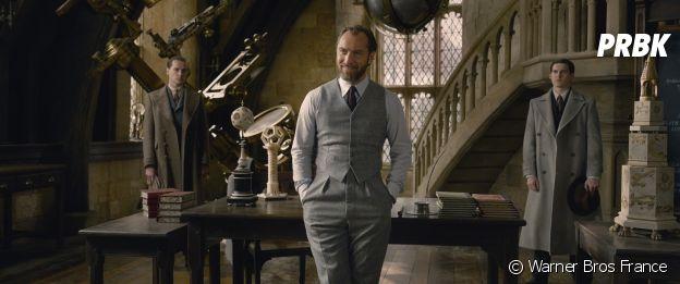 Jude Law en Dumbledore dans Les Animaux Fantastiques 2