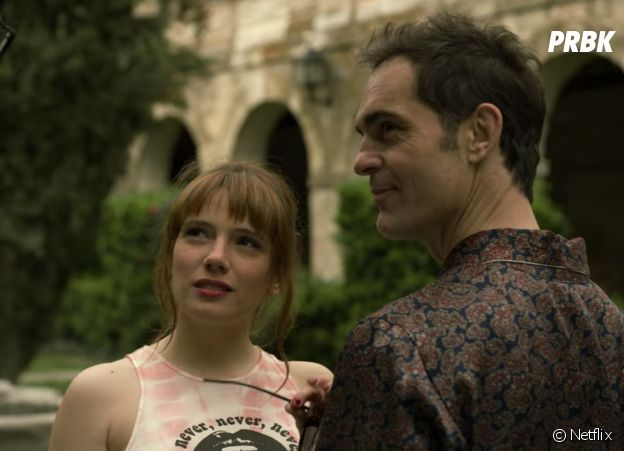 La Casa de Papel : Diana Gomez dans le rôle de Tatiana, la femme de Berlin