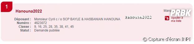 Cyril Hanouna candidat à l'élection présidentielle face à Emmanuel Macron ? L'animateur a déposé la marque Hanouna2022 à l'INPI
