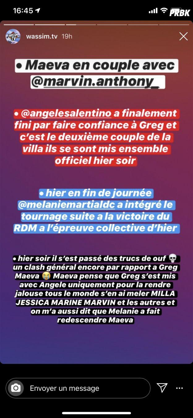 Maëva Ghennam (Les Marseillais VS Le reste du monde) et Greg en couple... mais pas ensemble ?