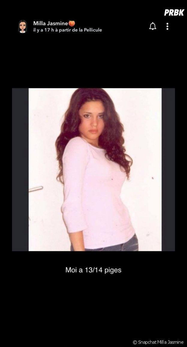 Milla Jasmine transformée : elle dévoile une photo d'elle à 13-14 ans, et la candidate de télé-réalité est méconnaissable