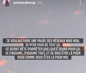 Emma CakeCup en larmes : elle révèle être victime de chantage