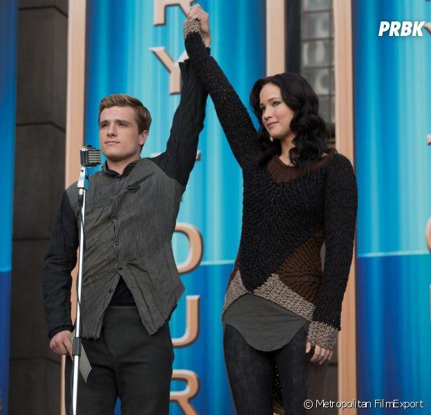 Hunger Games : Jennifer Lawrence et Josh Hutcherson dans le 2e film de la saga