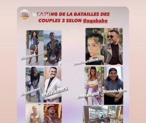 La bataille des couples 3 : le casting dévoilé ?