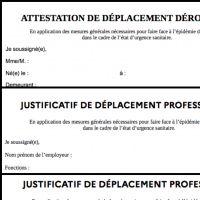 Reconfinement : où trouver les attestations de déplacement dérogatoire, professionnel et scolaire