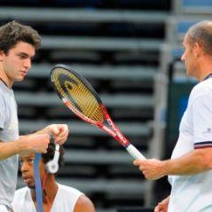 Photos ... Finale de la Coupe Davis ... La préparation des champions