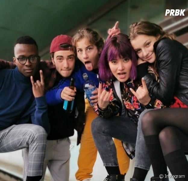 Skam France saison 7 : une première photo du tournage avec Lola (Flavie Delangle) dévoilée !